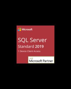 SQL Server 2019 Standard - 1 Device Client Access