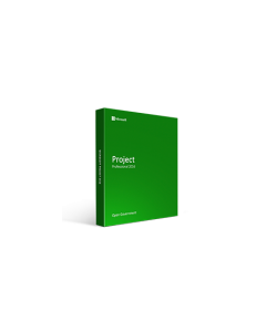 Microsoft Project Professional 2016 - Open Government