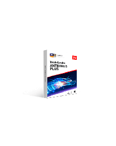 Bitdefender Antivirus Plus 1pc 1 year Retail - 2020 version - Global Except Germany - France- Poland