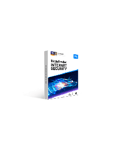 Bitdefender Internet Security 5pc 1 year Retail - 2020 version - Global Except Germany - France- Poland