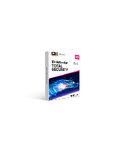 Bitdefender Total Security 10Device 1 year Retail - 2020 version - Global Except Germany - France- Poland