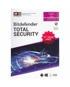 Bitdefender Total Security 2020 5-User 3Yr