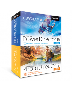 CyberLink PowerDirector 16 Ultra & PhotoDirector 9 Ultra Combo