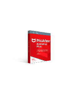 McAfee AntiVirus Plus 2019 (1YR, 1 PC/Mac) Download