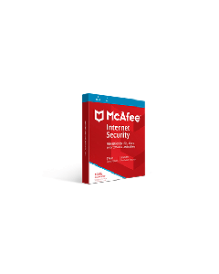 McAfee Internet Security 1pc / 1-Year