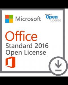 Microsoft Office 2016 Standard Open License