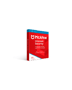 McAfee Internet Security 2019 (1YR, 3 PC/Mac) Download