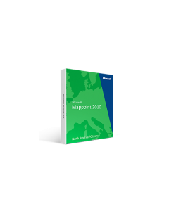 Microsoft Mappoint 2010 North America PC License