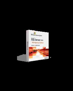 Microsoft SQL Server 2005 Workgroup Edition - 32bit + 5 USER CALS