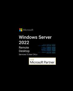 windows server rds 5 user cals