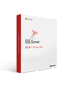 SQL Server 2016 + 10 User CALs