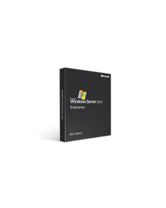 Microsoft Windows Server 2003 Enterprise X64 Edition