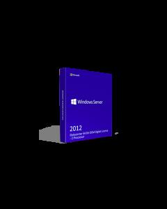 Microsoft Windows Server 2012 Datacenter 64 Bit OEM Digital License - 2 Processor
