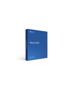 Microsoft Word 2016 Open License