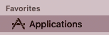 Application icon on Mac