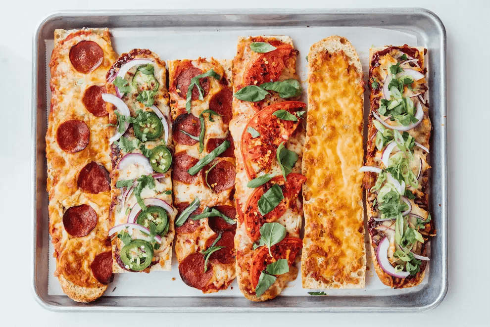 Oven-Baked French Bread Pizzas