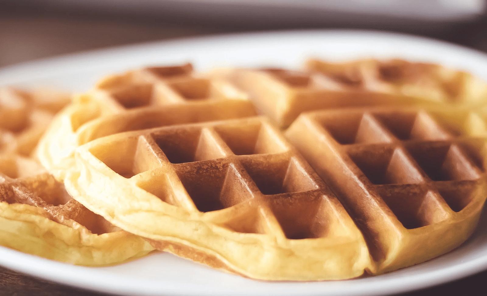 Sweet Milk Homemade Waffles