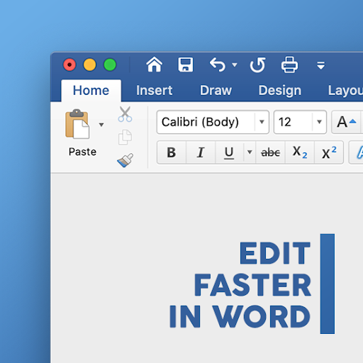 Edit Word Documents faster
