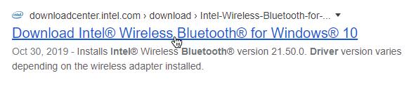 download intel drivers