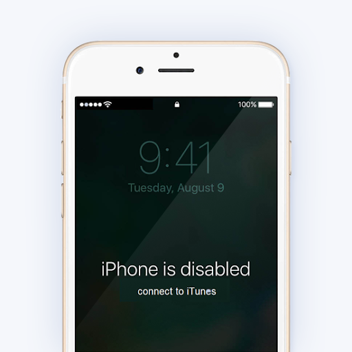 """""""iPhone Is Disabled, Connect to iTunes"""" Error"""