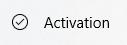 Follow Onscreen activation