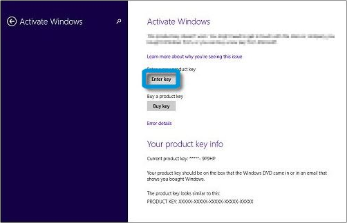insert entry key
