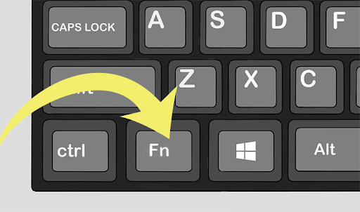 Turn on the keyboard light on HP