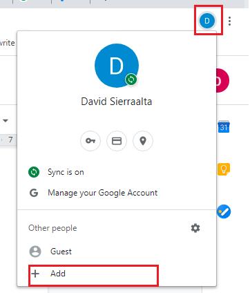 Create a New Chrome Profile