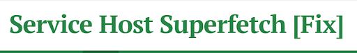 fix superfectch high disk usage