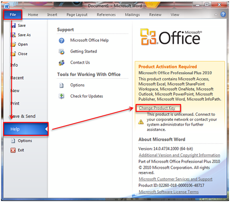 How to Change Your Office 2013 Product Key