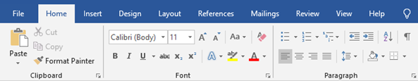 How to add a button to an existing ribbon/toolbar