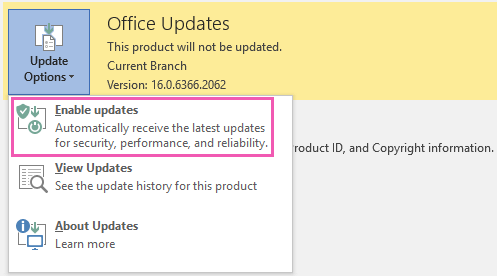 How to automatically enable Office 2013