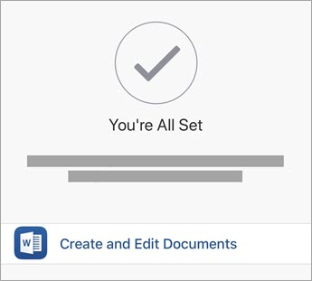 How to create a document on iPhone.