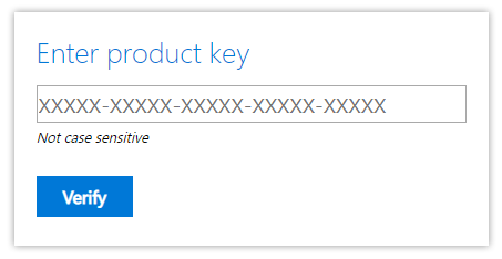 How to download Microsoft product key