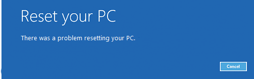 """How to fix """"There was a problem resetting your PC"""" error on Windows 10"""