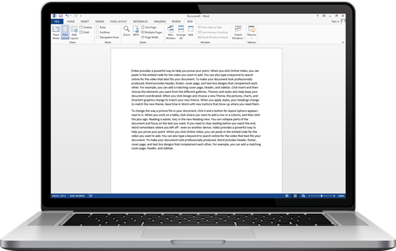 How to personalize settings in word