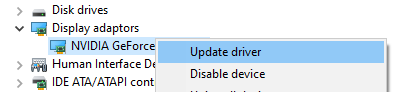 How to update drivers on windows
