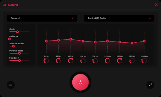 FX Sound application