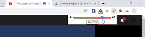 Increase volume in Google chrome