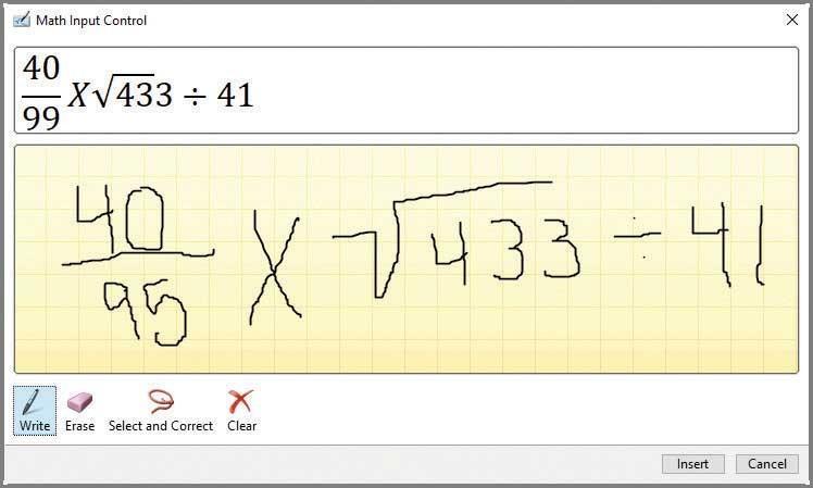 Ink Equation