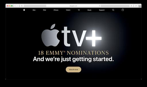 Apple Landing Page