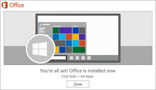 Microsoft project 2013 installation procedure