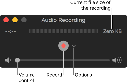 New Audio Recording