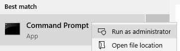 Running command prompt using administrator privilege