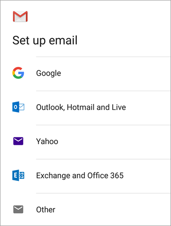 How to set up email in android Gmail App