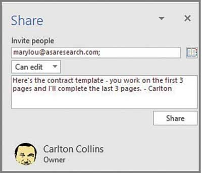 Sharing and Co-authoring in Real-Time