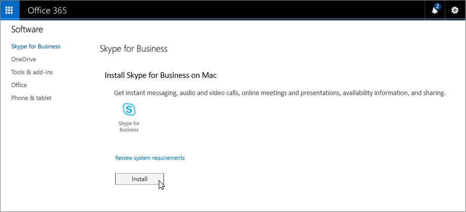 How to Install Skype for a Business Mac