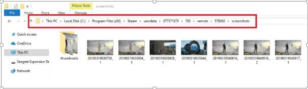 access steam screenshot folder