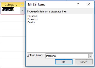 Value editing capabilities in Excel