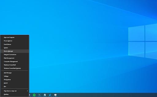 change Windows power settings